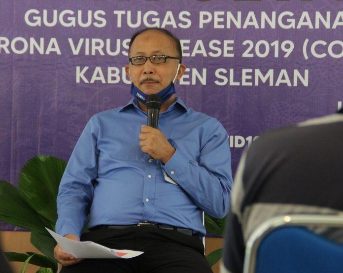 Kepala Dinas Pertanian, Pangan dan Perikanan (DPPP) Sleman, Heru Saptono. (Foto: Humas Pemkab Sleman)