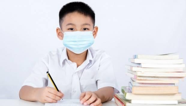 Sekolah di masa pandemi Covid-19 (Foto: Kaldera)