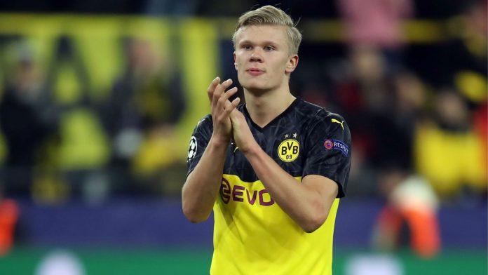 Bintang Borussia Dortmund, Erling Braut Haaland. (Foto dari Livescore)