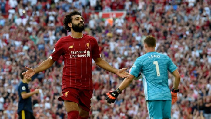 Striker Liverpool Mohamed Salah. (Foto: Premierleague.com)