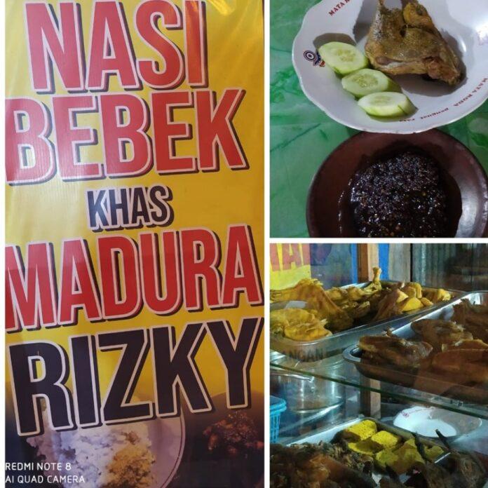 Bebek goreng Rizky Jl Godean Km 9, Yogyakarta. (Foto: Suryayogya.com/Sawabi Chen)