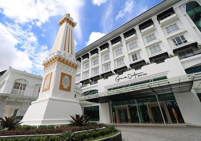 Grand Dafam Rohan Jogja, hotel bintang 4 syariah pertama dan satu-satunya di Yogyakarta. (Foto: Suryayogya.com/Gaga Salo)