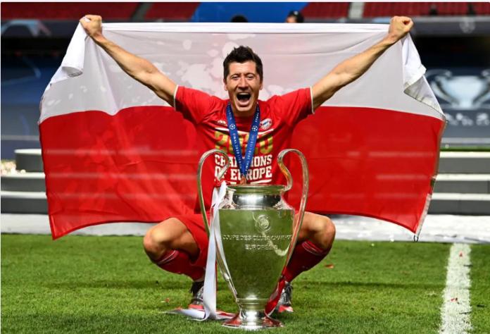 Robert Lewandoski top skor Liga Champions 2019/2020. (Foto: Uefa.com)