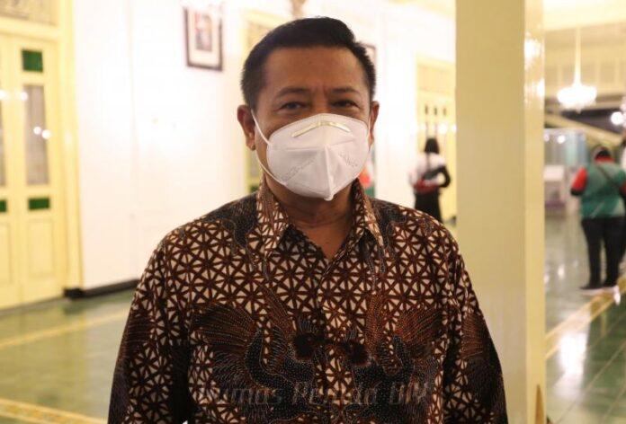 Sekretaris Daerah (Sekda) DIY, R.Kadarmanta Baskara Aji