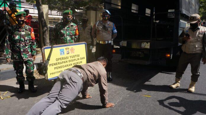 Polres Sleman menggelar Operasi Yustisi