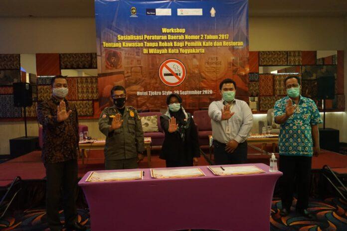 Dinkes Pemkot Terus Sosialisasikan Kawasan Tanpa Rokok (KTR)