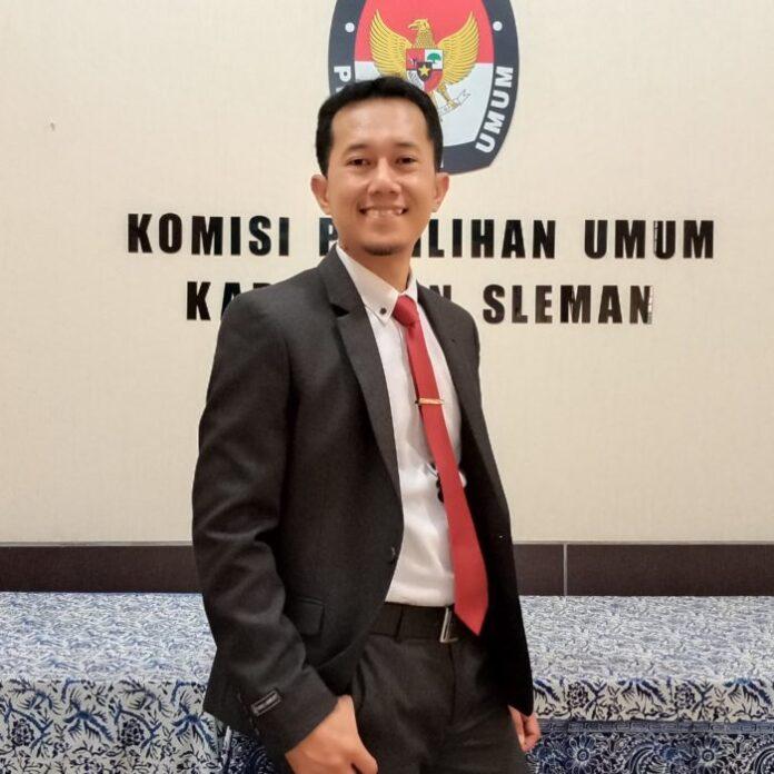 Ketua KPU Kabupaten Sleman Trapsi Haryadi