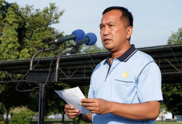 Komandan Pangkalan Udara (Danlanud) Adisutjipto Yogyakarta, Marsma TNI Bob Henry Panggabean.