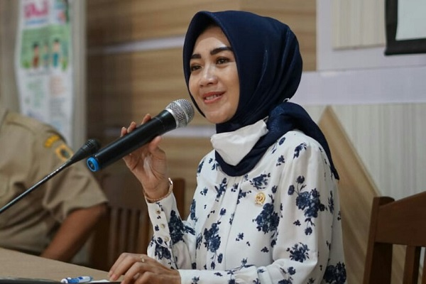 Anggota DPR RI Komisi III Fraksi NasDem, Eva Yuliana,