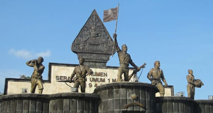 Museum Benteng Vredeburg,monumen Serangan Umum 1 Maret 1949.