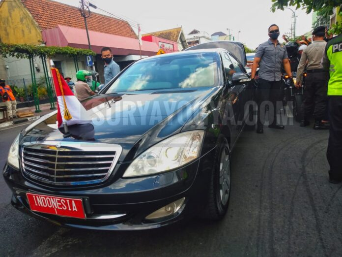Presiden Joko Widodo saat melakukan kunjungan kerja beberapa waktu lalu di Yogyakarta. Foto: Gaga Sallo