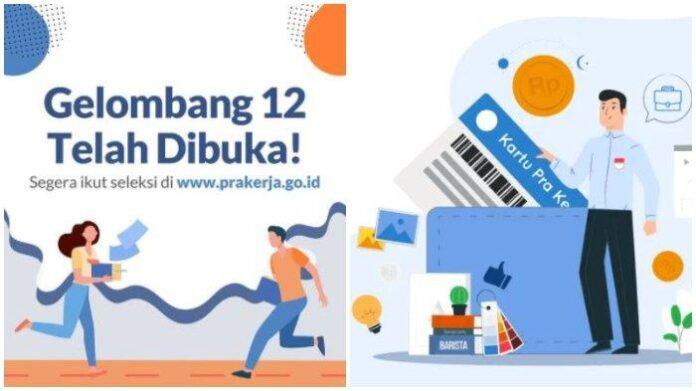 Pendaftaran Kartu Prakerja Gelombang 12 ditutup besok Jumta. Login segera di www.prakerja.go.id