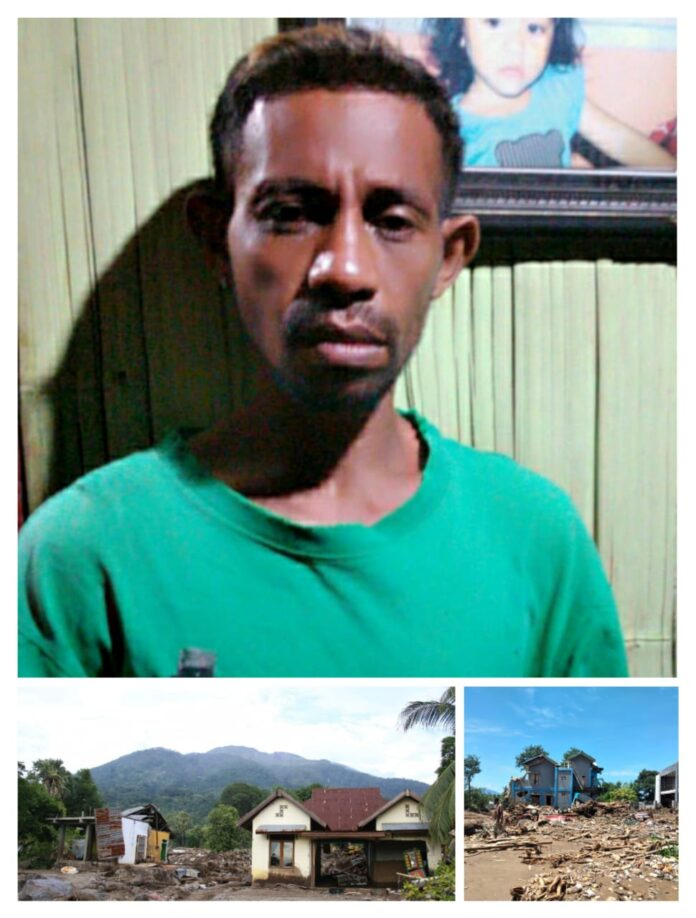 Benediktus Wiseng Libu atau akrab disapa Embo (35) adalah sosok penyelamat puluhan jiwa manusia dari ancaman bahaya maut banjir bandang di NTT