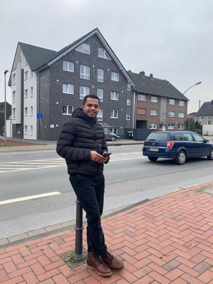 Misionaris muda Asal Lembata Lamalera yang kini tugas perutusan di Jerman P. Noker Keraf, CSsR