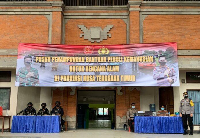 Polda Bali menyalurkan bantuan korban banjir dan tanah longsor di Provinsi Nusa Tenggara Timur (NTT). Bantuan tersebut berasal dari Polda Jawa Tengah, Jawa Timur Kalimantan Selatan dan Kalimantan Tengah. Termasuk bantuan dari Polda Bali dan Mabes Polri.