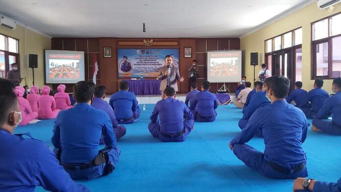 Foto Direktorat Polairud Polda D.I.Y Menggelar Training Motivasi dan Hypnoterapi untuk seluruh anggotanya